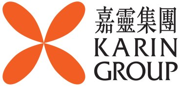 Karin Technology 嘉�控股 Mobile Logo