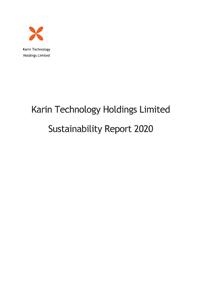 2020 Sustainability Report